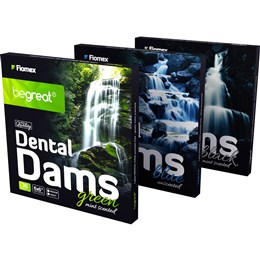Dental Dam BeGreat zelený mint 36ks, (medium 0,18mm)