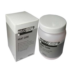 Meliodent Heat Cure 01 bezbarvý 1000g