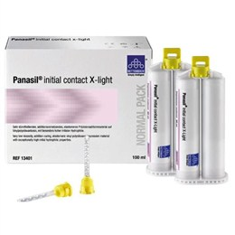 Panasil Initial Contact X-light 2x50 ml
