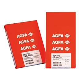Film Agfa Dentus Ortholux 12,7 x 30,5cm, 100 ks