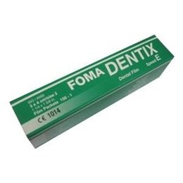 Film RTG Dentix E 150ks zelený